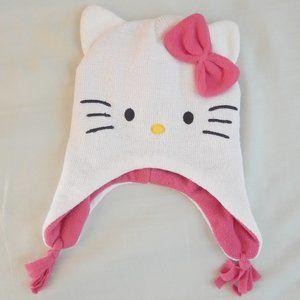 Hello Kitty Glitter Knit Hat